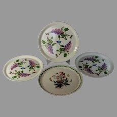 """Set of 4 Portmeirion Botanic Garden 12"""" Platters"""