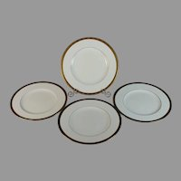 Set of 4 Minton Winchester Salad Plates Excellent