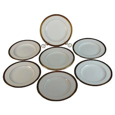 Set of 8 Minton Winchester Bread Butter Plates Excellent