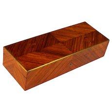 Antique French Parquet Wood Box