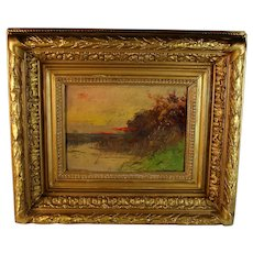 Impressionist Landscape Painting by French Artist Jacques Coppenulle 1878-1915