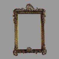 Antique B. Kaufmann Fine Arts Bronze Photo Frame