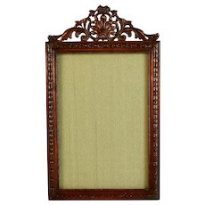 Antique French Bronze Photo Picture Frame