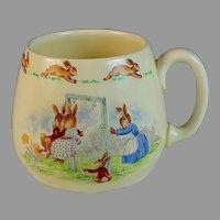 1954 Royal Doulton Bunnykins Mug Cup