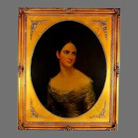 British School Portrait Painting of a Lady
