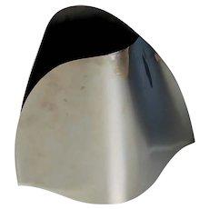 Georg Jensen Modern Stainless Vase Alessi E-Li-Li Large