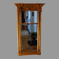 Large Vintage Carvers Guild Gold Federal Style Mirror