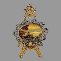Early 20th Century Miniature Landscape Painting