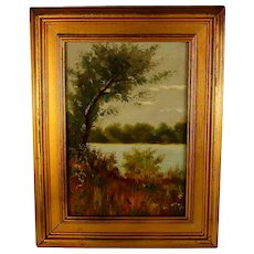 Oil on Canvas Painting signed and dated W.W Goodacre
