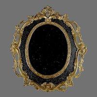 Gilt Brass Napoleon III Style  Photo Frame with Easel