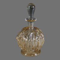 Vintage Signed Glass Perfume Bottle