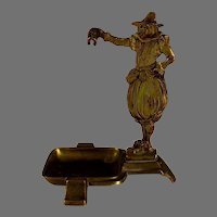 Antique French Figural Watch Holder 16th c Theme
