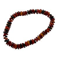 1930s Multicolor Geometric Bakelite Necklace