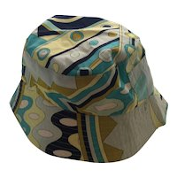 Emilio PUCCI Cotton Bucket Hat Size I