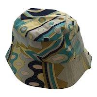 Emilio PUCCI Cotton Bucket Hat Size I