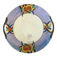 1920s Art Deco Japanese Lusterware NORITAKE Porcelain Cake Plate
