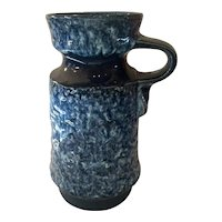 1970s West German Fat Lava Pottery JASBO Handled Urn Vase