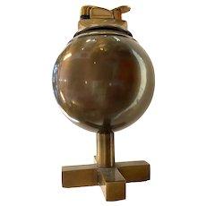 Charles Hollis Jones Mid Century Bronzed Metal Table Lighter