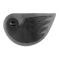1960s Mexican Sterling Silver Modernist Bird Brooch Pin