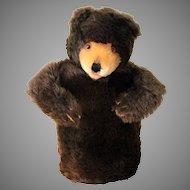 Vintage Steiff Bear Puppet w/ Ear Tag