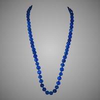 Spectacular Art Deco Czechoslovakian Glass Necklace