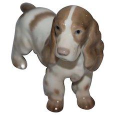 Bing and Grondahl B&G Denmark 2172 Cocker Spaniel Dog Figurine