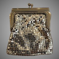 Vintage Gold Mesh Coin Purse Germany In Outstanding Condition
