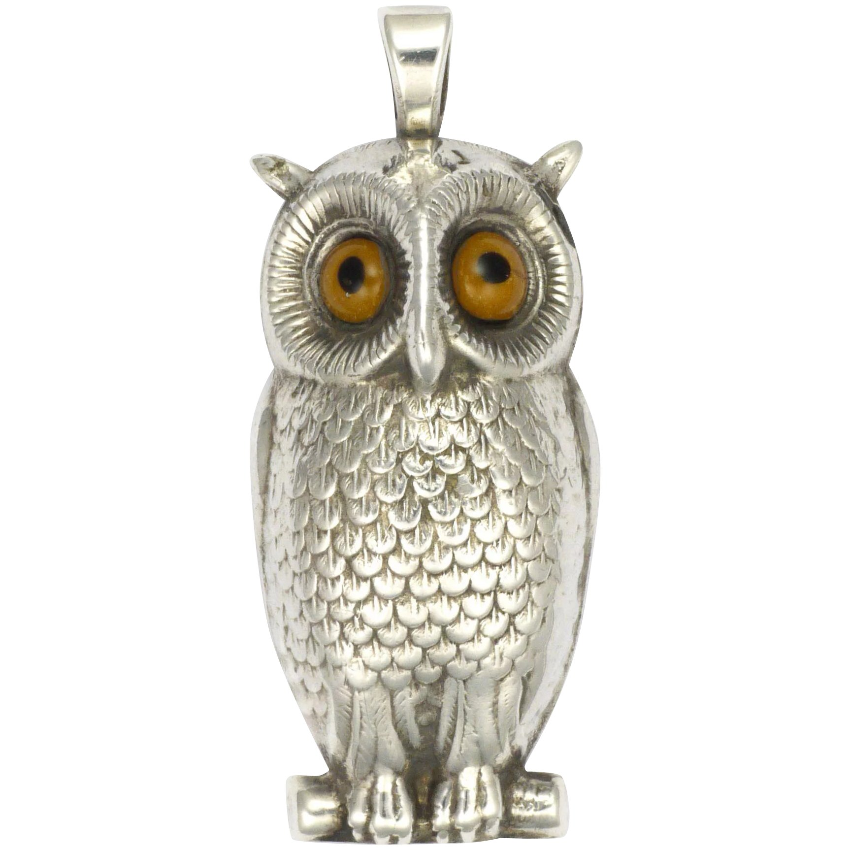 the nn little small natalie owl pendant ness products