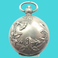 French Art Nouveau Silver 'Porte-Louis' or Coin Holder