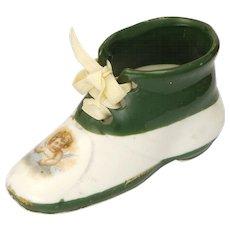 Victorian China Fairing - Boot with Cherub