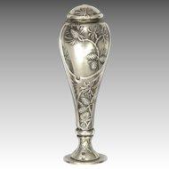 French Art Nouveau Silver Pine Cones Desk Seal