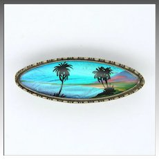 Art Deco Sterling Silver Butterfly Wing Exotic Brooch - THOMAS L MOTT