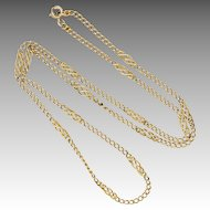 English 9K Celtic Knot Necklace Chain - WH Wilmot Ld