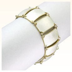 DAVID-ANDERSEN - Norway - Silver Enamel Bracelet