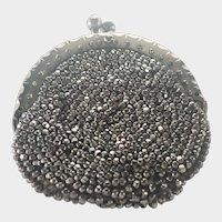 Georgian Cut Steel Chatelaine Coin Purse