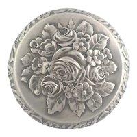German Antique 800 Silver Trinket Box - Martin Mayer