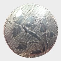 Georgian 1810 Sterling Silver Patch Pill Box