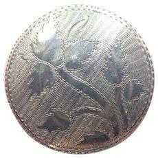Georgian 1810 Sterling Silver Patch Pill Box