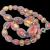 Art Deco Bohemian Foiled Glass Necklace