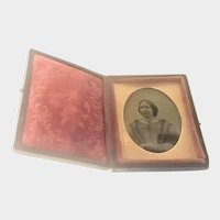 Victorian Cased Ambrotype of a Lady