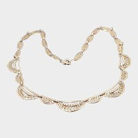 French Antique 18K Gold Filled Necklace  - MURAT