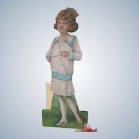 Old Edwardian Large Paper Doll