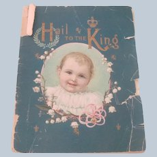 Old Victorian Advertising Baby Care Book Hires Condensed Milk c1899
