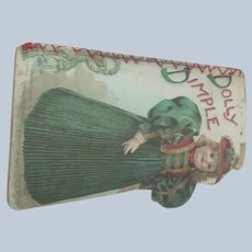"Old Doll Sized Victorian Children's Book ""Dolly Dimple"""