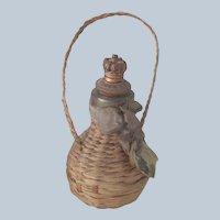 Old Miniature Dollhouse /Perfume Bottle Jug c1910