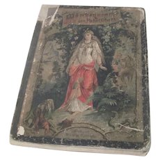 Antique German Children's Fairytale Book c Mid 1800's