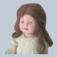 Vintage 1930's Composition Girl Doll