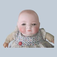 "Antique 9"" Bisque Bye - Lo Baby Doll"
