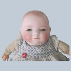 """Antique 9"""" Bisque Bye - Lo Baby Doll"""