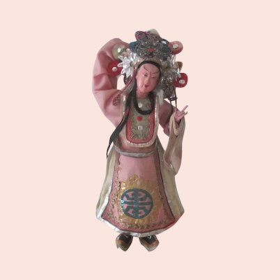 Vintage Chinese Opera Doll c 1940